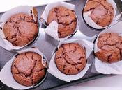 Magdalenas chocolate azúcar