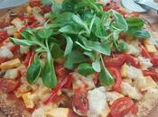 Pizza calabaza base coliflor #lunessincarne