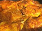 Pollo horno salsa anacardos