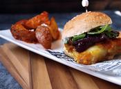 Mini hamburguesa bacalao cajún