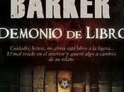 Libros leídos 2011 (8): Demonio Libro, Clive Barker