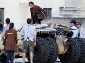 Foto Joseph Gordon-Levitt rodaje 'The Dark Knight Rises'