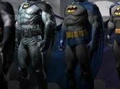 """Batman: Arkham City"" Varios diseños trajes para Batman"