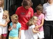 Infantas Leonor Sofía Princesa Letizia unen Familia Real vacaciones Mallorca