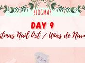 Blogmas Christmas Nail Uñas Navidad