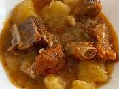 Patatas costillas Crock