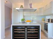 Vinotecas para cocinas moderna sostenibles