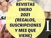 Revistas Enero 2021 (Regalos, Suscripciones viene)