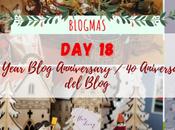 Blogmas Year Blog Anniversary Aniversario