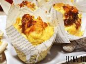 Muffins jamón, higos nueces
