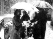 1940:Las burreras calle Lealtad nieve