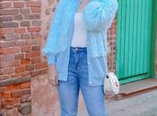 Chaqueta pelo light blue