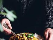 Curry ternera arroz naan