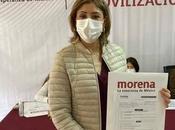 Mónica Rangel registra proceso interno MORENA