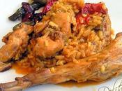 Conejo arroz estilo cartagena