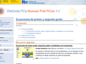 WikiDidácTICa 2.0, almacén recursos digitales.