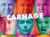 Póster internacional 'Carnage', Roman Polanski