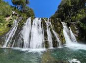 Lago Traful cascada brillante viaje tiempo real)