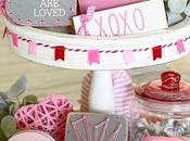 Ideas para Valentín bandejas niveles