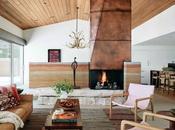 Rancho moderno Texas estilo mid-century modern