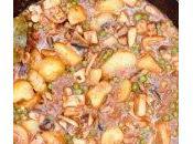 Sepia guisantes patata
