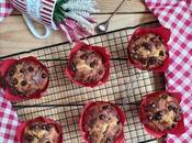 Muffins plátano pepitas chocolate