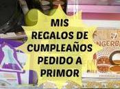 regalos Cumpleaños: Pedido Primor!!!!!!