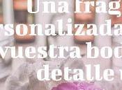 Fragancia Personalizada para Vuestra Boda: Detalle Único