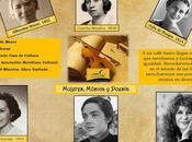 Seis estupendas mujeres través música poesía