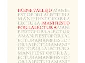 Manifiesto lectura. Irene Vallejo