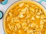 Pechuga pollo salsa mandarina