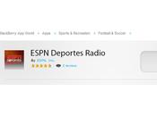 ESPN Deportes Radio para BlackBerry