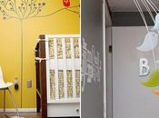 Pintar árbol minimalista habitación peque