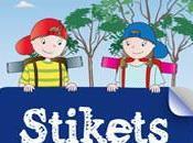 Pegatinas nombre: Stikets.com