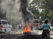 Ejército Myanmar arrastra país asiático guerra civil