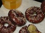Donuts naranja chocolate veganos