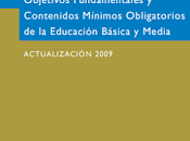 """Para biblioteca digital """"Objetivos Fundamentales Contenidos Mínimos Educación Básica Media, Actualización 2009""""."""