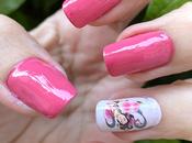 Manicura Geisha Rosa reto Nails Eyes