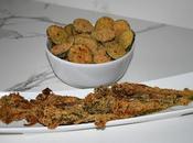 Calabacín Bimi crujiente parmesano especies horno