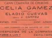 1947 Maria Lisarda Coliseum: Majos Cádiz, Imperio Argentina, presentación Santander