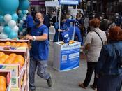 Avanza Fibra regala 4000 kilos naranjas limones Murcia para apertura tienda Alcorcón