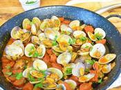 Almejas salsa chorizo
