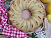 Ciambella. Bizcocho tradicional italiano limón.