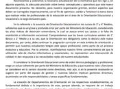 compartimos Declaración Pública Colegio Nacional Orientadores Chile A.G.