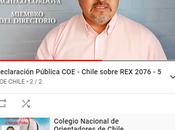comparte video Colegio Nacional Orientadores, relación aspectos nueva Resolución Exenta 2076 implicancias.
