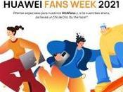 HUAWEI Fans Week 2021 premios para usuarios Huawei