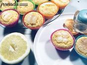 Magdalenas limón gluten lactosa