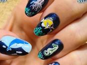 Reto Uñitas Unidas mayo 2021: Azul animales marinos