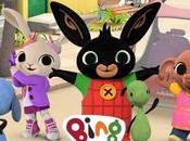 serie dibujos Bing lanza para pequeños