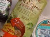 Tortitas arroz integral queso mascarpone mermelada